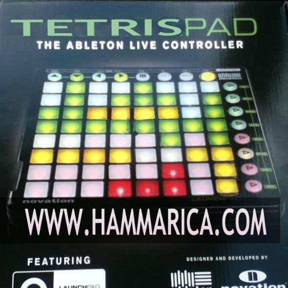 Ableton Live Tetris Controller