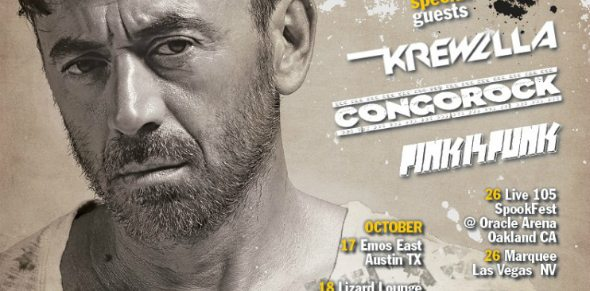 "Benny Benassi Announces ""Rough Road,"" The North American Bus Tour"