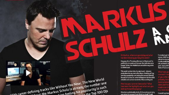 MARKUS SCHULZ: I WAS ONE OF THE ARMY BRATS