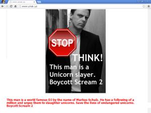 Markus Schulz Unicorn Slayer Boycott