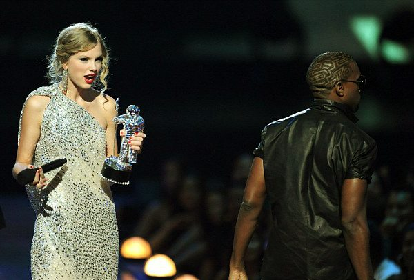 TAYLOR SWIFT STORMS STAGE & CALLS OUT KANYE WEST FOR RAPING DANCE MUSIC