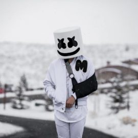 DID MARSHMELLO BREAK HIS ARM WHILE SNOWBOARDING?