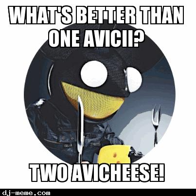 AVICII DJ MEME