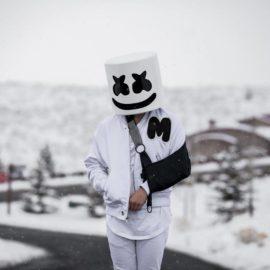 DID MARSHMELLO BREAK HIS ARM WHILE SNOWBOARDING?