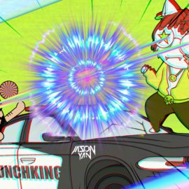 【MunchKing】The Crazy Trippy Cat Music Video You Must Watch in 2019